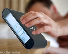 Batterie flipover réveil-retournez à tourner alarme off digital led rétroéclairé