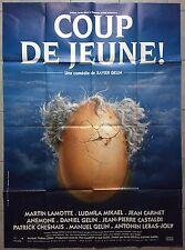 Affiche COUP DE JEUNE Ludmila Mikael MARTIN LAMOTTE Xavier Gélin 120x160cm *