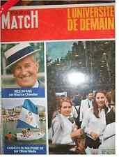 PARIS MATCH 1012 Chevalier Pageot Faure Assas