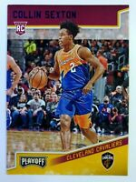 2018-19 Panini Chronicles Playoff Blue Collin Sexton Rookie RC #193, #'d/99
