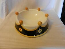 Large Ceramic Dog Bowl Outta Hand by Amy Hetrick Essex Collection