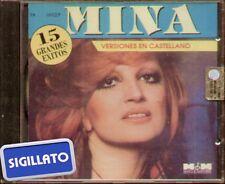 """MINA """" 15 GRANDES EXITOS (VERSIONES EN CASTELLANO) """" CD SIGILLATO  M&M TK 16027"""