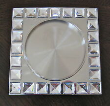 Swarovski Dressed Up Wine Bottle Coaster Candleholder 606 982 New in Box COA
