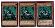 3 x électromagnétique Tortue ygld-dea00, secret rare, edition limitée