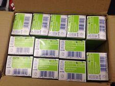 QTY:12 ,15 Amp 125 Volt Duplex Self Test Slim GFCI Outlet, White,LEVITON