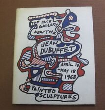 PAINTED SCULPTURES - Jean Dubuffet - The Pace Gallery 1968 - art - fine