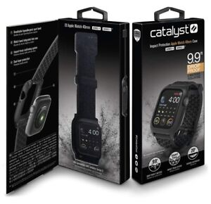 Catalyst Series 4 & 5 Impact Protection Apple Watch 44 MM Case Black  New