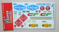 YESTERDAY TRUCKING 1:24 1:25 GOFER RACING DECALS CAR MODEL ACCESSORY 11052