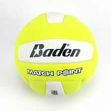 Baden Match Point Volleyball Official Size White And Neon Green