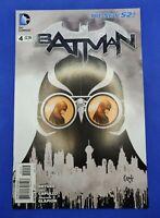 Batman 4 2011 series 4th print new 52 court of owls 1st full appearance VF/NM