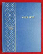 WHITMAN COIN ALBUM FOR YEAR SETS - NO DATES