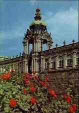 DRESDEN Sachsen AK DDR Postkarte Kronentor des Zwinger ~1970 Verlag Brück & Sohn