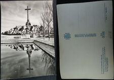 ANTIGUA POSTAL 1959 VALLE DE LOS CAIDOS LA CRUZ CON AGUILA DE SAN JUAN   CC04265
