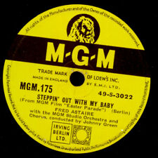 """FRED ASTAIRE """"Easter Parade"""" Steppin' out with my Baby/ ANN MILLER   78rpm  S103"""
