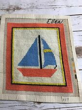 Lot Cross Stitch Started Finished Not Done Yarn