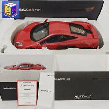 MCLAREN 12C - AUTOART SIGNATURE 1/18 GM Shop