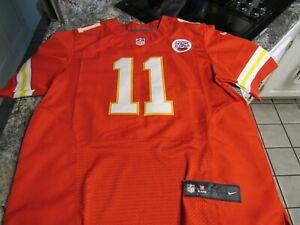Alex Smith Kansas City Chiefs Nike NFL Player Football Jersey Size 44 SEWN ON