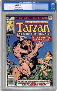 Tarzan #1 CGC 9.8 1977 0054671009
