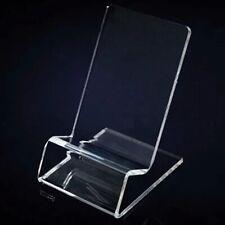 Teléfono Móvil Transparente Acrílico Transparente Pantalla Soporte Estante Sostenedor Soporte de montaje