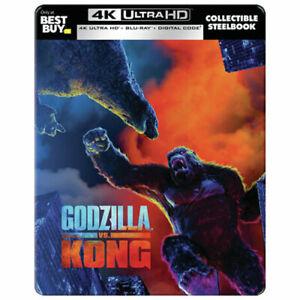 Brand New - Godzilla vs Kong - Limited Edition Steelbook (Blu-ray + 4K UHD)