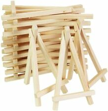 10PCS Wooden Mini Easel Stands Table Card Stand Holder Small Picture Display TD