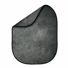 Fovitec 5'x6.5' Gray Tie-Dye Double-Sided Pop-Out Muslin Backdrop