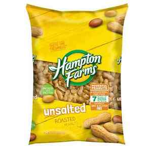 Hampton Farms Unsalted In-Shell Peanuts (5 lbs.) FREE SHIPPING