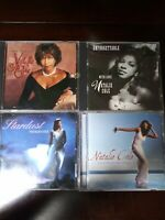 Lot Of 4 Natalie Cole CD's, Stardust, Unforgettable, Ask a Woman Who Knows &