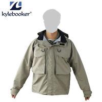 Kylebooker Fly Fishing Breathable Wading Jacket Waterproof Waders Jackets