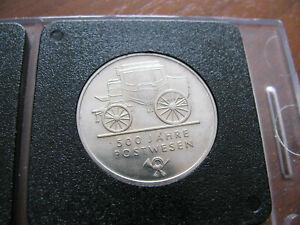 5 DDR-Mark ST >>500 Jahre Postwesen<< DDR 1990 -selten!14