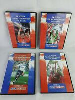 English Football Team Stars Liverpool, Manchester, Tottenham, Arsenal Lot 4 DVD