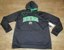 Champion Notre Dame Fighting Irish Hoodie Jacket Embroidered Twill Logo Men's XL