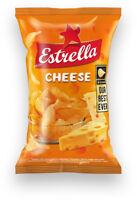 ESTRELLA Cheese Flavor Potato Chips Crisps Snacks 75g 2.65oz
