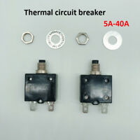 1x thermal switch circuit breaker overload protector overload switch  5-40 amps