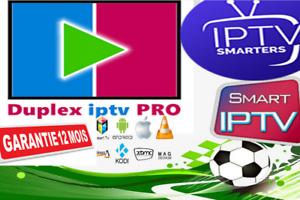 IP*TV Abonnement 12 mois (M3U✔️SMART TV✔️ANDROID✔️MAG) + Adult + 1 mois free =13