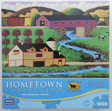 jigsaw puzzle 1000 pcs Covered Bridge HomeTown Collection Heronim 2011