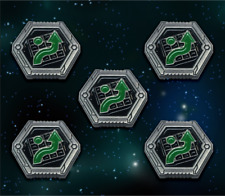 Star Wars: X-Wing Miniature Games Metal Empire Evade Tokens -- Broken Egg Games