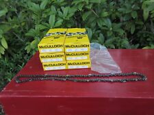 "6 New in Boxes McCulloch Chainsaw Chains 14"" Part No.90762N Super Pro Mini Pro"