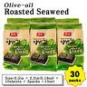 Seaweed Roasted Nori Laver Olive-oil Kim/Gim Sushi 10sheets-30packs Korean Food