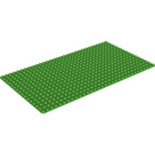 LEGO - Rectangle Base Plate - 16 X 32 - Bright Green