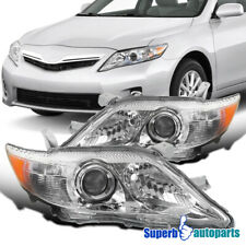 For 2010-2011 Toyota Camry Projector Headlights Head Lamps