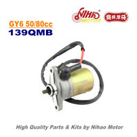 TZ-03 50cc 80cc Starter Motor GY6 Parts Chinese Scooter 139QMB Motorcycle Engine