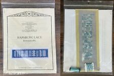 Hapsburg Lace Bookmark Pattern by Tanjan Berlin Embroidery Designs (Started)