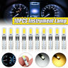 5/10/20x T5 5730SMD 2 LED Side Tail Lights Lamp Bulb Dashboard Gauge Wedge
