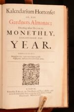 1664 John Evelyn Sylva a Discourse of Forest-Trees First Edition Uncommon