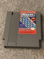 Jeopardy -- Junior Edition (Nintendo Entertainment System, 1989) Working   Game