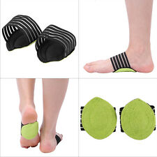 2x Foot Heel pain Relief Plantar Fascitis Insole Pad Arch Support Shoe Insert KL