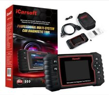 PORSCHE Diagnostic Scanner Tool SRS ABS ENGINE BATTERY RESET iCarsoft POR V2.0