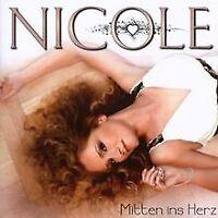 Mitten Ins Herz von Nicole | CD | Zustand gut