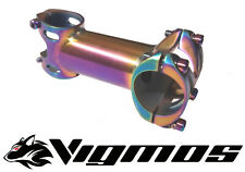 Titan delantera de 31,8 Rainbow multicolor neo ELOX 90 100 Titan voladizo Titanium stem 25,4